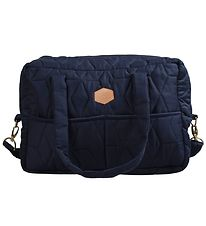 Filibabba Changing Bag - Quilted - Dark Blue