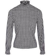Cost:Bart Blouse - Catalina - Black/White Check
