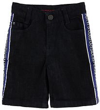 Zadig & Voltaire Shorts - Dark Denim w. Text