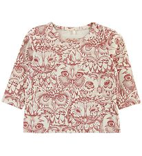 Soft Gallery Blouse - Bella - Ivory - Mahogany Owls