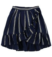 Molo Skirt - Blondie - Classic Navy w. Stribes