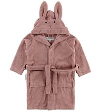 Liewood Bathrobe - Lily - Rabbit - Rose
