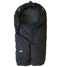 Voksi Stroller Sleeping Bag - Classic+ - 80/110 cm - Black/Black