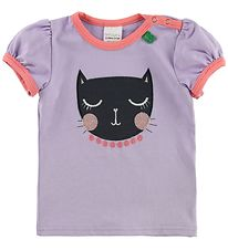 Freds World T-shirt - Lavender w. Cat