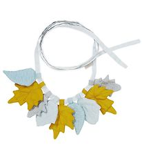 Cam Cam Bunting Banner - Leaves - 220 cm - Mix Mustard