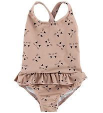 Liewood Swimsuit - UV50+ - Amara - Rose w. Cats
