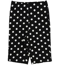 Hound Bicycle Shorts - Biker - Black/Dots