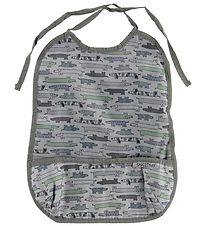 Smallstuff Bib w. Food Catcher - Long - Sausage Dog