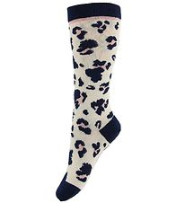 Liewood Knee High Socks - Sofia - Ivory w. Leo