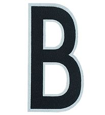 Design Letters Sticker - Mobile - B - 5 cm - Black