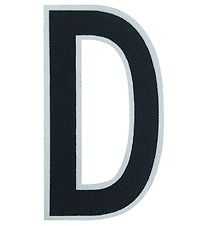 Design Letters Sticker - Mobile - D - 5 cm - Black