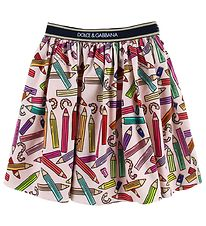 Dolce & Gabbana Skirt - Back To School - Pink w. Pencils