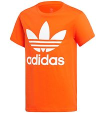 adidas Originals T-shirt - Trefoil - Orange