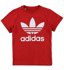 adidas Originals T-shirt - Trefoil - Red