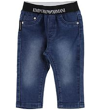 Emporio Armani Trousers - Blue