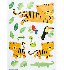 A Little Lovely Company Wallstickers - 35x50 - Jungle Tiger