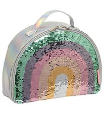 A Little Lovely Company Cooler Bag - Rainbow Sequin