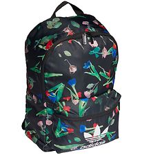 adidas Originals Backpack - Classic - Black/Flowers