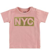 Petit by Sofie Schnoor T-shirt - NYC - Rose