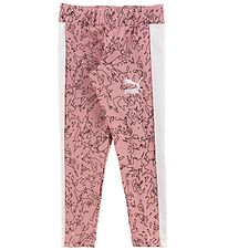 Puma Leggings - Classic AOP - Bridal Rose w. Pattern