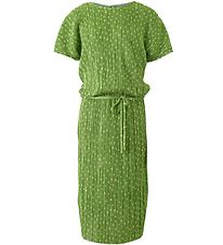 Hound Dress - Plisse - Bright Green