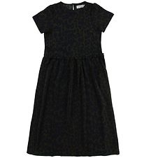 Hound Dress - Army/Navy Leo