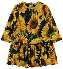 Dolce & Gabbana Dress w. Bloomers - Sunflower - Black/Yellow