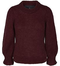 Designers Remix Jumper - Knitted - Ilia - Rouge Noir