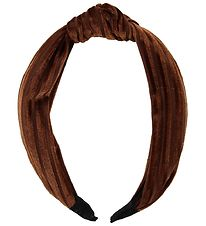 Lehof Hairband - Vigga - Velvet - Brown