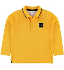 BOSS Polo Shirt - Yellow w. Logo