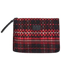 Lala Berlin Toiletry Bag - Pili - Check Kufiya Red