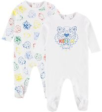 Kenzo Gift Box - Coverall - 2-Pack - White/Tigers
