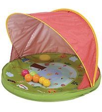 Ludi Shade Tent w. Pool/Balls - UV50 - Red