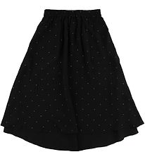 Designers Remix Skirt - Leana - Black/Dots