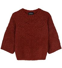 Designers Remix Jumper - Acrylic/Wool - Vicki Cable - Ox Blood