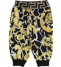 Versace Sweatpants - Black w. Gold Print