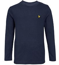 Lyle & Scott Junior Long Sleeve Top - Navy