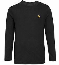 Lyle & Scott Junior Long Sleeve Top - Black
