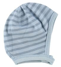 Joha Baby Hat - Wool/Cotton - Blue Striped