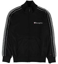 Champion Fashion Track Jacket- Black