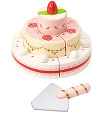 Le Toy Van Play Food - honeybake - Strawberry Wedding Cake