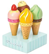Le Toy Van Play Food - Honeybake - Ice-cream Cones