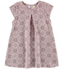 Joha Dress - Wool - Rose/Stars