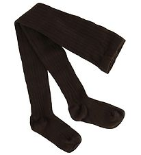 Condor Tights - Rib - Dark Brown