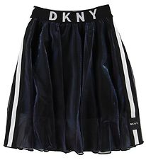 DKNY Skirt - Black/Holographic w. Logo