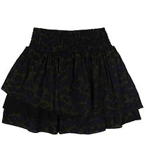 Zadig & Voltaire Skirt - Viscose - Navy/Army Camouflage