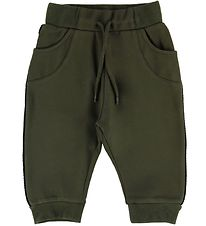 Mini A Ture Sweatpants - Isak - Burnt Olive