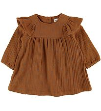 Mini A Ture Dress - Ammalie - Leather Brown