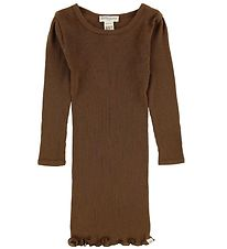 Minimalisma Dress - Alda - Wool - Cinnamon