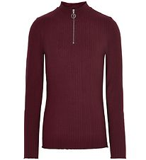 Cost:Bart Long Sleeve Top - Georgina - Bordeaux